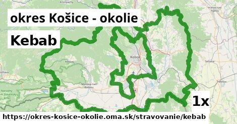 ilustračný obrázok k Kebab, okres Košice - okolie