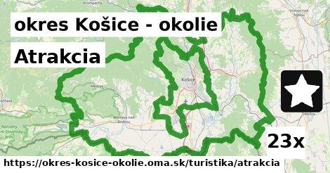 atrakcia v okres Košice - okolie