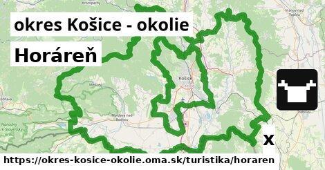horáreň v okres Košice - okolie