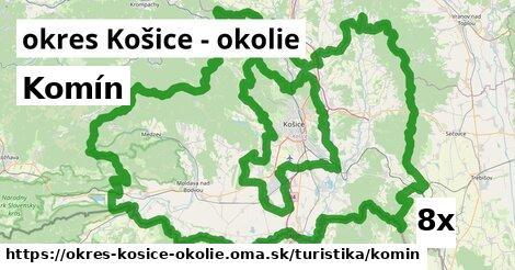 komín v okres Košice - okolie