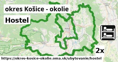 Hostel, okres Košice - okolie