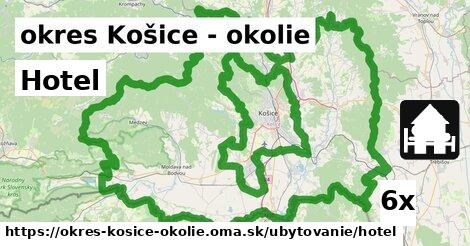 Hotel, okres Košice - okolie