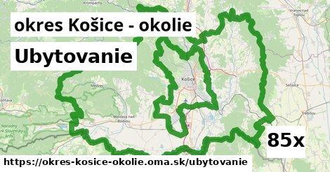 ubytovanie v okres Košice - okolie
