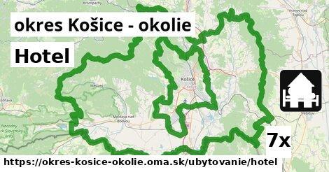 ilustračný obrázok k Hotel, okres Košice - okolie