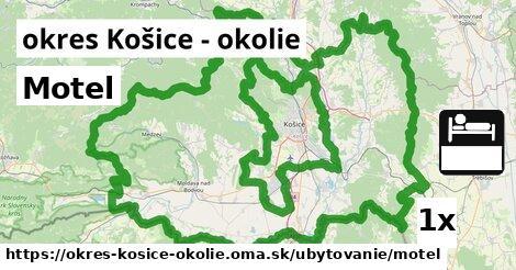 ilustračný obrázok k Motel, okres Košice - okolie