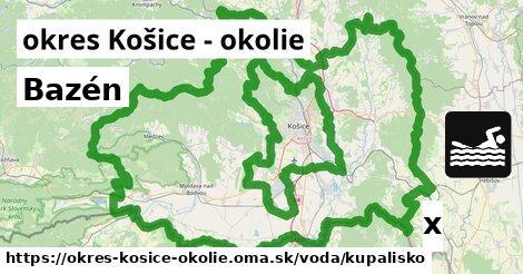 ilustračný obrázok k Kúpalisko, okres Košice - okolie