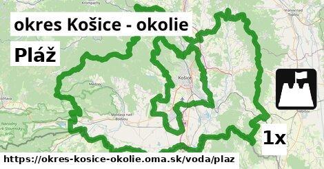 ilustračný obrázok k Pláž, okres Košice - okolie
