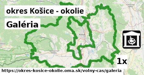 Galéria, okres Košice - okolie