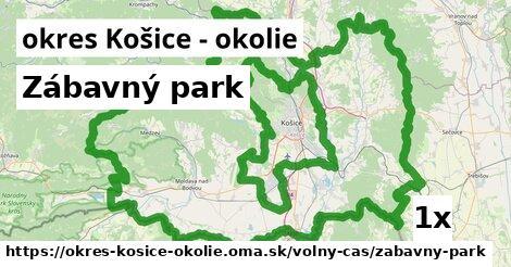 Zábavný park, okres Košice - okolie