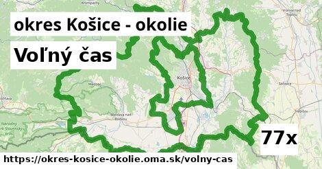 voľný čas v okres Košice - okolie