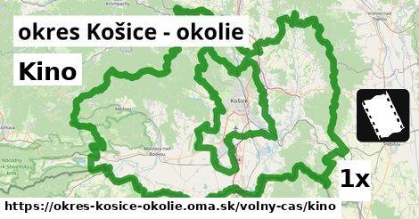 ilustračný obrázok k Kino, okres Košice - okolie