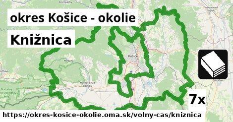 ilustračný obrázok k Knižnica, okres Košice - okolie