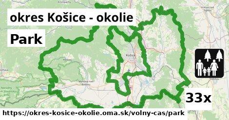 ilustračný obrázok k Park, okres Košice - okolie
