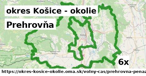 prehrovňa v okres Košice - okolie