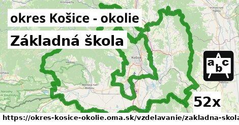 ilustračný obrázok k Základná škola, okres Košice - okolie