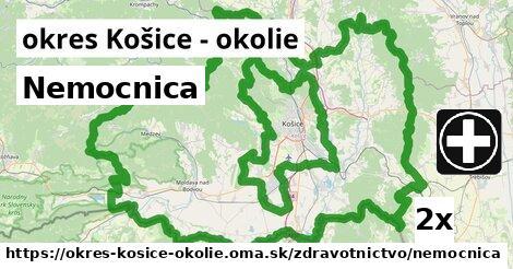 ilustračný obrázok k Nemocnica, okres Košice - okolie