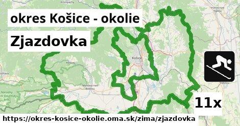 ilustračný obrázok k Zjazdovka, okres Košice - okolie