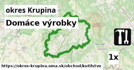 ilustračný obrázok k Domáce výrobky, okres Krupina