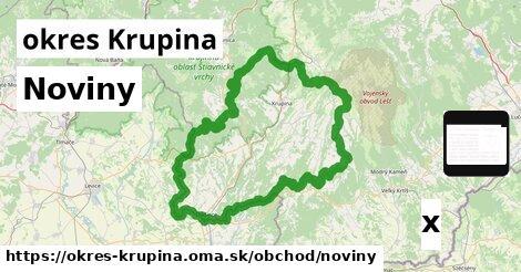 ilustračný obrázok k Noviny, okres Krupina