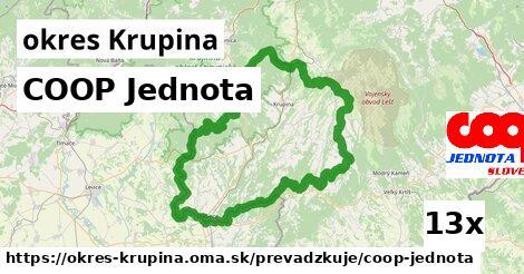 ilustračný obrázok k COOP Jednota, okres Krupina