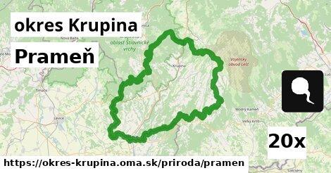 ilustračný obrázok k Prameň, okres Krupina
