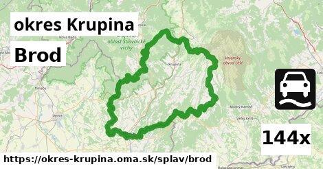 ilustračný obrázok k Brod, okres Krupina