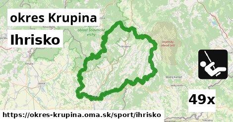 ilustračný obrázok k Ihrisko, okres Krupina