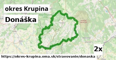 ilustračný obrázok k Donáška, okres Krupina