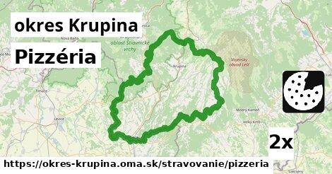 ilustračný obrázok k Pizzéria, okres Krupina