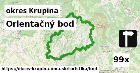 ilustračný obrázok k Orientačný bod, okres Krupina
