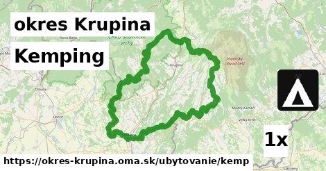 ilustračný obrázok k Kemping, okres Krupina