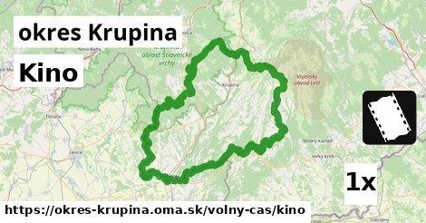 ilustračný obrázok k Kino, okres Krupina