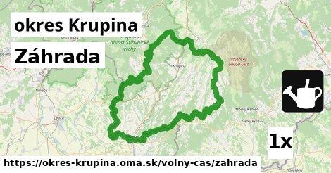 ilustračný obrázok k Záhrada, okres Krupina