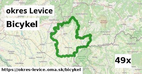bicykel v okres Levice