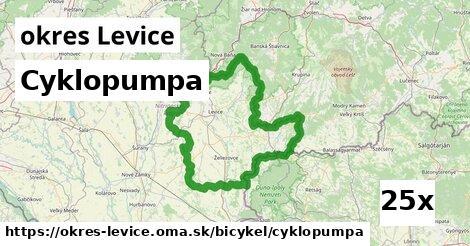 cyklopumpa v okres Levice