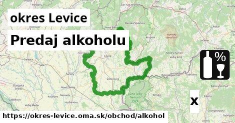 ilustračný obrázok k Predaj alkoholu, okres Levice