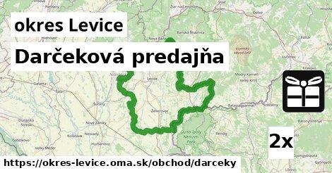 ilustračný obrázok k Darčeková predajňa, okres Levice