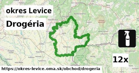 ilustračný obrázok k Drogéria, okres Levice