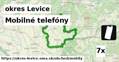 ilustračný obrázok k Mobilné telefóny, okres Levice