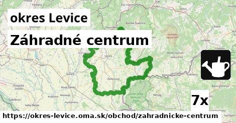 ilustračný obrázok k Záhradné centrum, okres Levice