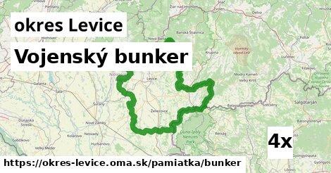 ilustračný obrázok k Vojenský bunker, okres Levice
