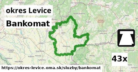 ilustračný obrázok k Bankomat, okres Levice