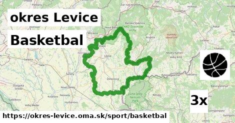 Basketbal, okres Levice