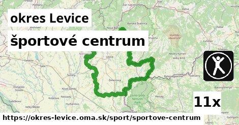 ilustračný obrázok k športové centrum, okres Levice