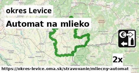 ilustračný obrázok k Automat na mlieko, okres Levice