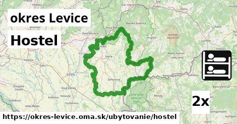 Hostel, okres Levice