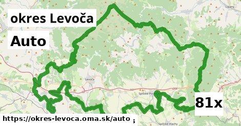 auto v okres Levoča