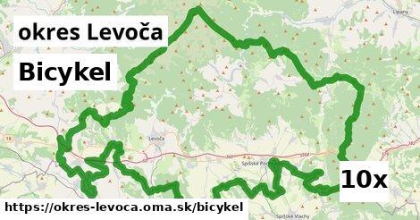 bicykel v okres Levoča