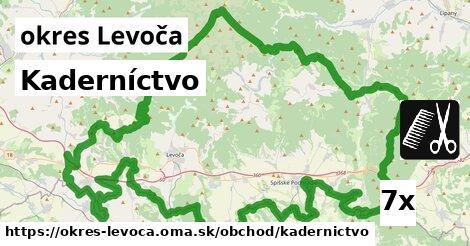 Kaderníctvo, okres Levoča
