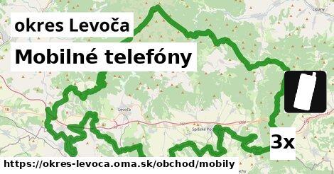 Mobilné telefóny, okres Levoča